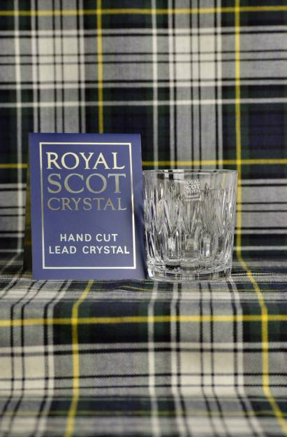 Scot Crystal Tumbler Sapphire