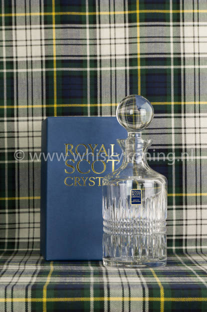 Scot Crystal Decanter Iona