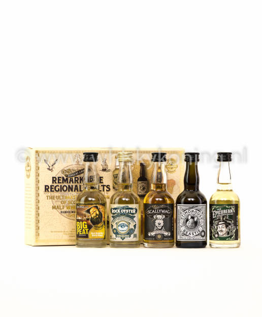 miniset Remarkable Regional Malts